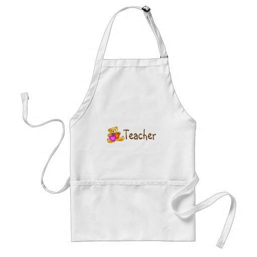 Teacher Bear Aprons