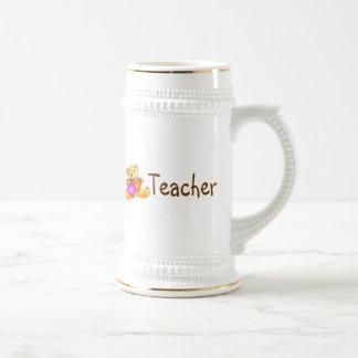 Teacher Bear Beer Steins