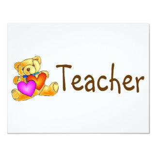 Teacher Bear Invite