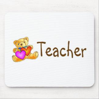 Teacher Bear Mousepads