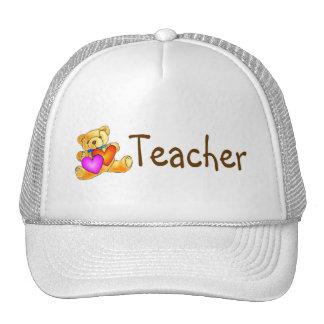 Teacher Bear Trucker Hats