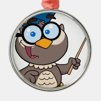 Teacher bird christmas ornament