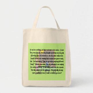 Teacher Birthday Story Art Gifts Yellow Balloon Canvas Bags