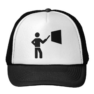 Teacher blackboard hats