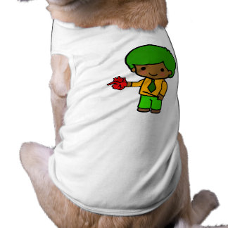 Teacher Boy 1 Sleeveless Dog Shirt