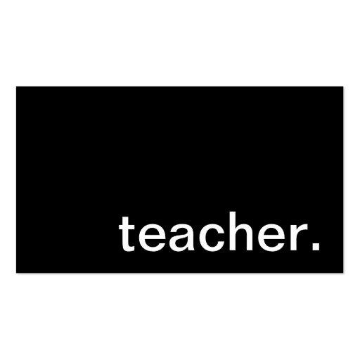Minimalist Classroom Uk ~ Premium plain minimalist business card templates page