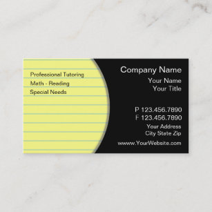 Children education business cards business card printing zazzle uk teacher business cards reheart Gallery
