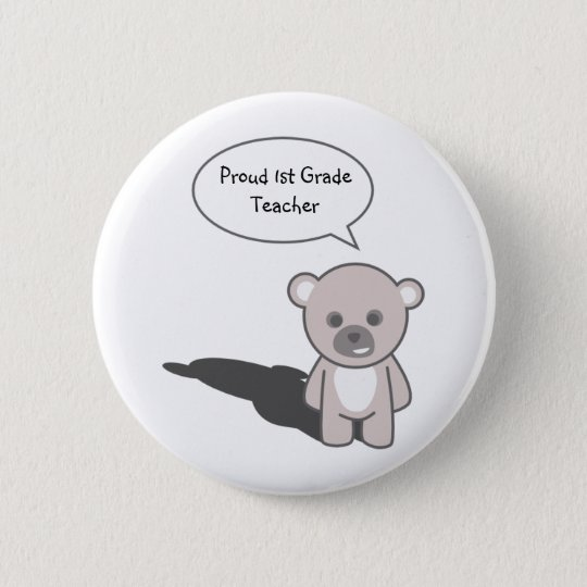 Teacher_Button1(Personalise) 6 Cm Round Badge