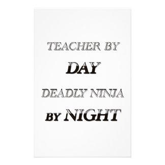 TEACHER BY DAY STATIONERY