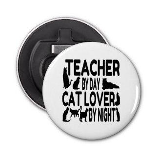 Teacher Cat Lover Bottle Opener
