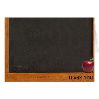 Teacher Chalkboard Card