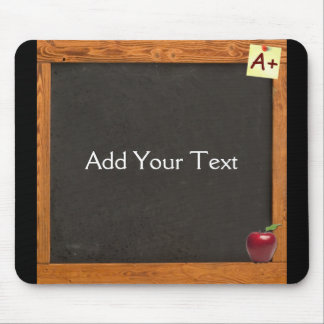 Teacher Chalkboard Mouse Pad