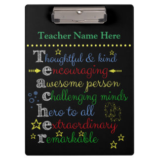 Teacher Clip Board