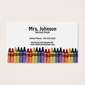 Teacher Crayons Template
