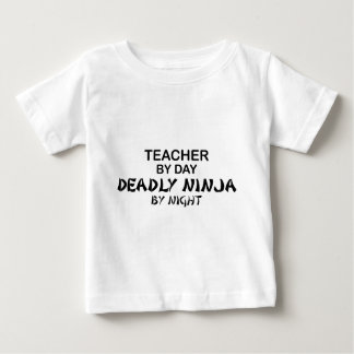 Teacher Deadly Ninja by Night Baby T-Shirt