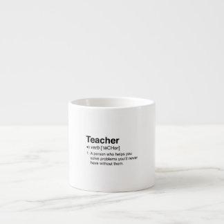 Teacher Definition Espresso Mug