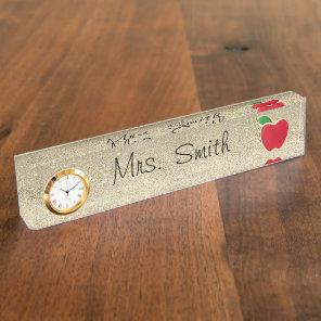 Teacher Desk Name Plate