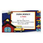 Teacher Elementary School Pack Of Standard Business Cards