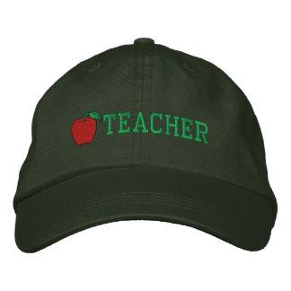 Teacher Embroidered Hat