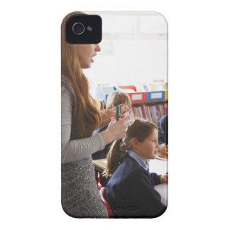 teacher explaining lesson to schoolchildren Case-Mate iPhone 4 cases