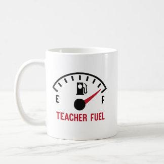 Teacher Fuel Funny Apple Gift Coffee Mug