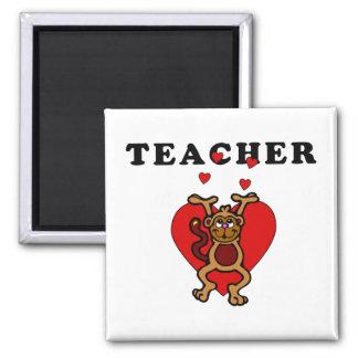 Teacher Fun Refrigerator Magnet