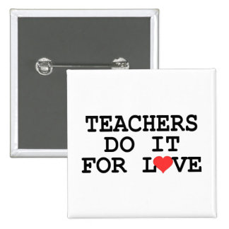 Teacher Gift 15 Cm Square Badge