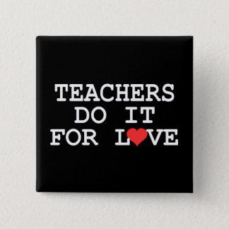 Teacher Gift 15 Cm Square Badge