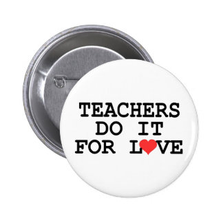 Teacher Gift 6 Cm Round Badge