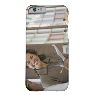 Teacher giving paperwork to student barely there iPhone 6 case