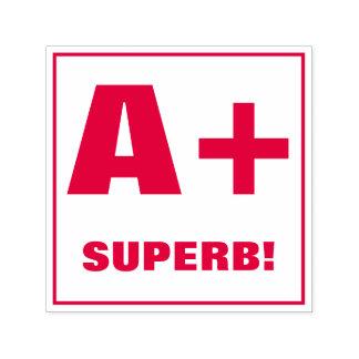 Teacher Grading Stamp: A+, SUPERB! Self-inking Stamp