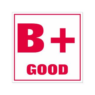 Teacher Grading Stamp: B+, GOOD Self-inking Stamp