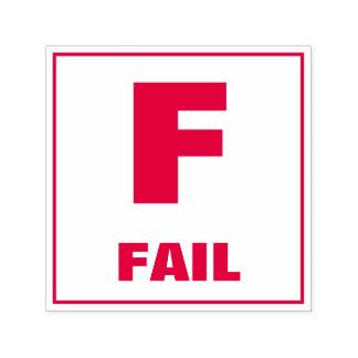 Teacher Grading Stamp: F - FAIL Self-inking Stamp