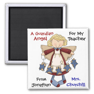 TEACHER Guardian Angel by SRF Magnet