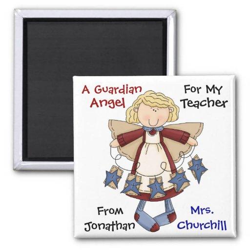 TEACHER Guardian Angel by SRF Fridge Magnet