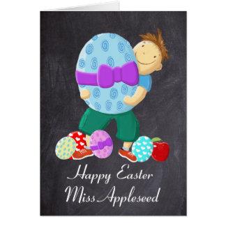 Teacher Happy Easter Card