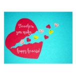 Teacher/Happy Hearts Post Cards