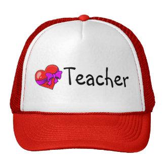Teacher Heart Cap