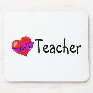 Teacher Heart Mouse Pad