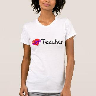 Teacher Heart Tee Shirts