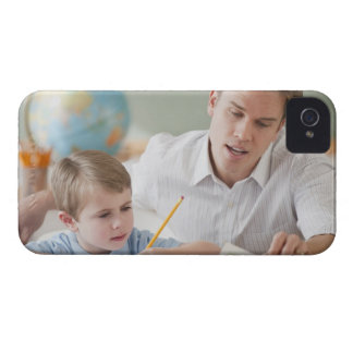 Teacher helping student with homework iPhone 4 case