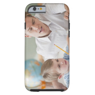 Teacher helping student with homework tough iPhone 6 case