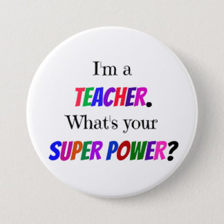 Teacher Humor 7.5 Cm Round Badge