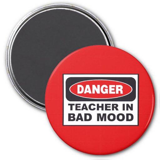 Teacher In Bad Mood Magnet