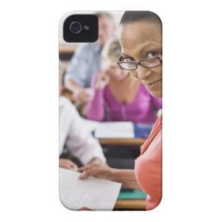 Teacher in classroom iPhone 4 Case-Mate case