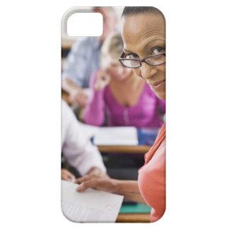 Teacher in classroom iPhone 5 covers