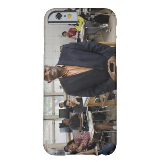 Teacher in classroom with students barely there iPhone 6 case
