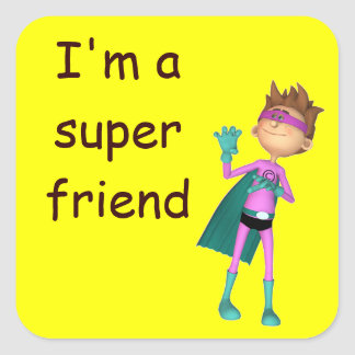 Teacher inspirational freindship sticker