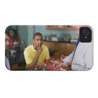 Teacher instructing students iPhone 4 Case-Mate cases