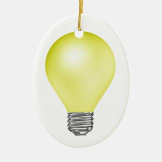 Teacher Light Bulb Christmas Ornament